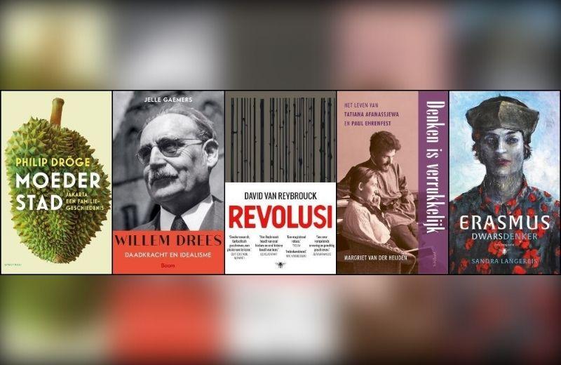 Shortlist van de Libris Geschiedenis Prijs 2021