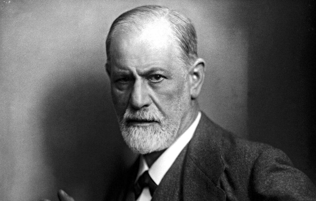 Sigmund Freud gefotografeerd door zijn schoonzoon Max Halberstadt, ca. 1921