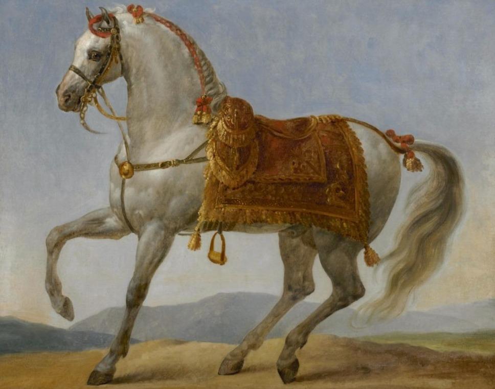 Portret van een arabier ba Napoleon, mogelijk Marengo