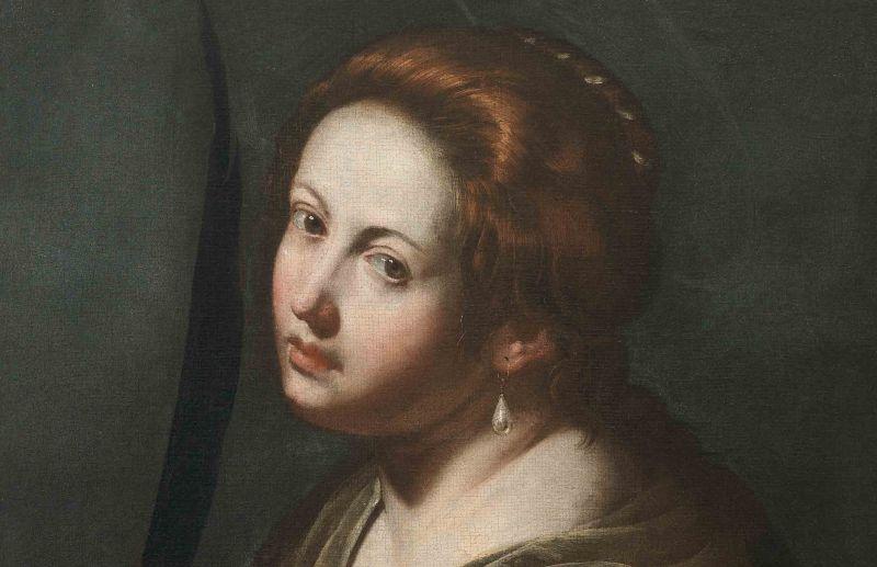 Heilige Lucie - Artemisia Gentileschi, ca. 1636/38