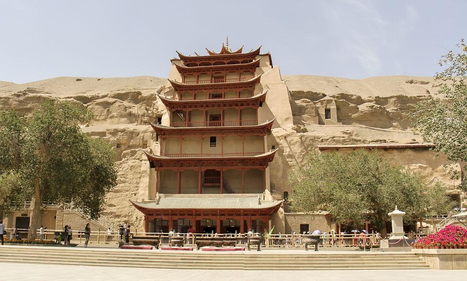 Dunhuang - De Mogao-grotten