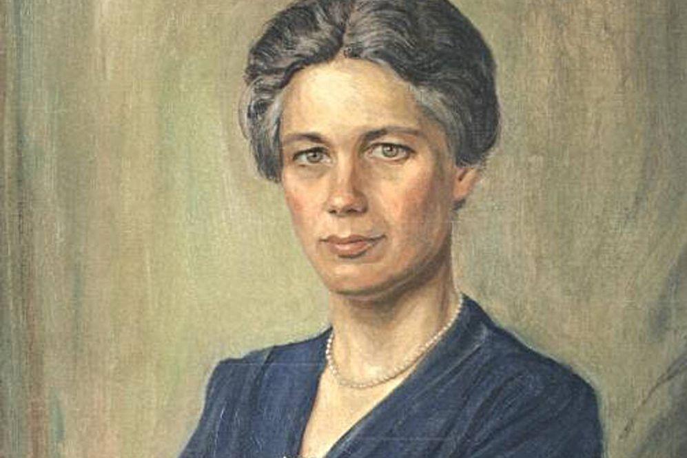 Jacoba van Tongeren, detail van de cover van het boek van haar neef Paul