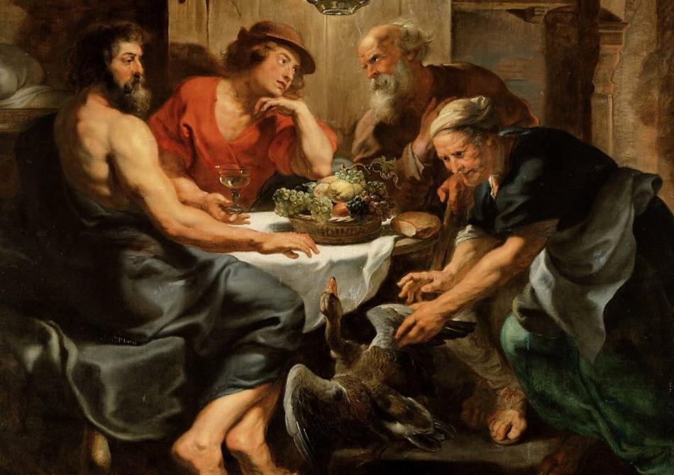 Philemon en Baucis - Peter Paul Rubens, ca. 1630-32
