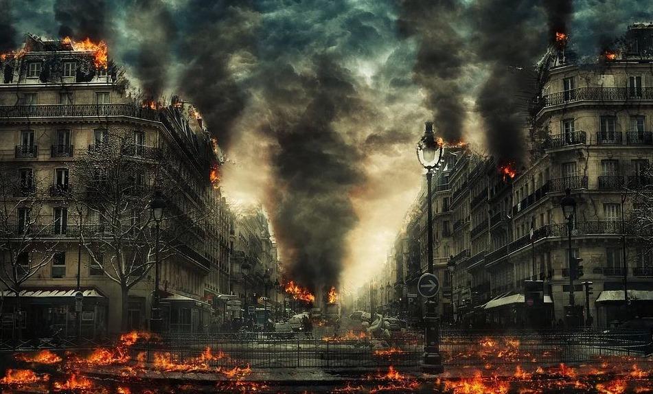 Visuele verbeelding van de apocalyps