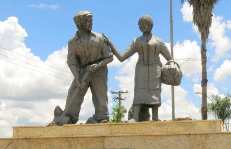 Monument voor Nederlandse migranten in Brazilië