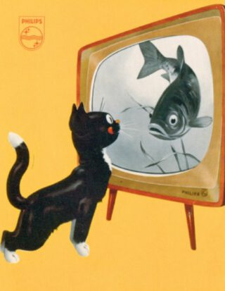 Philips television commercials appealed to the magical and realistic appeal of the moving image, circa 1960.