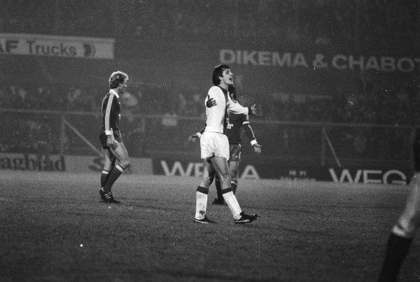 De tragische afscheidswedstrijd van Johan Cruijff (1978)