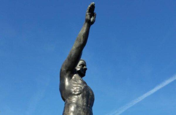Olympisch Stadion verwijdert beeld met 'Hitlergroet'